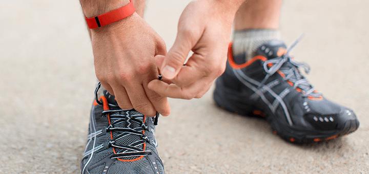 De stappenteller van Fitbit