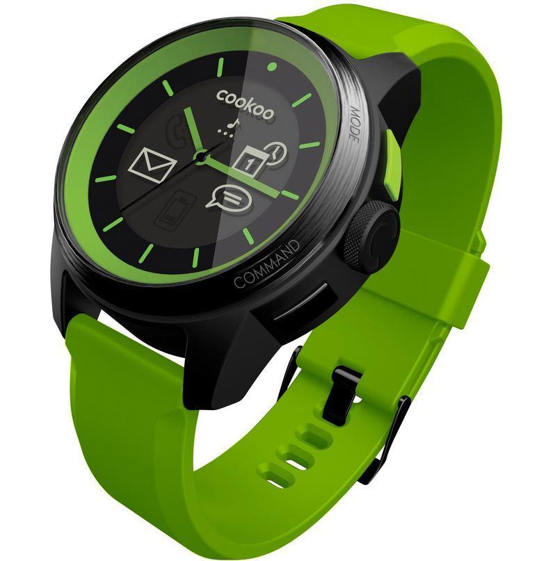 Naast de Apple iWatch (of smartwatch) waarover gespeculeerd wordt bestaan er al enkele smartwatches op de mark, zoals deze van Cookoo