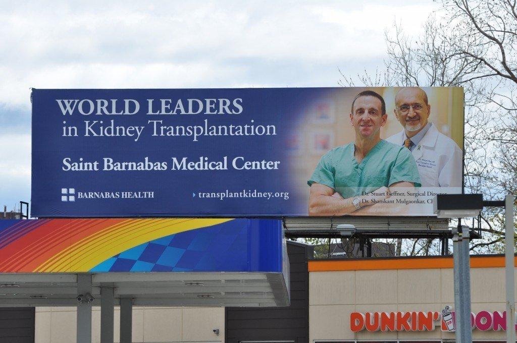 Amerikaanse reclame: de nummer 1 voor orgaantransplantaties?