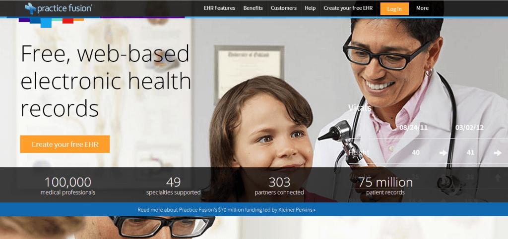 Practice Fusion: gratis dossier voor artsen