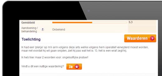 Recensie op ZorgkaartNederland.nl