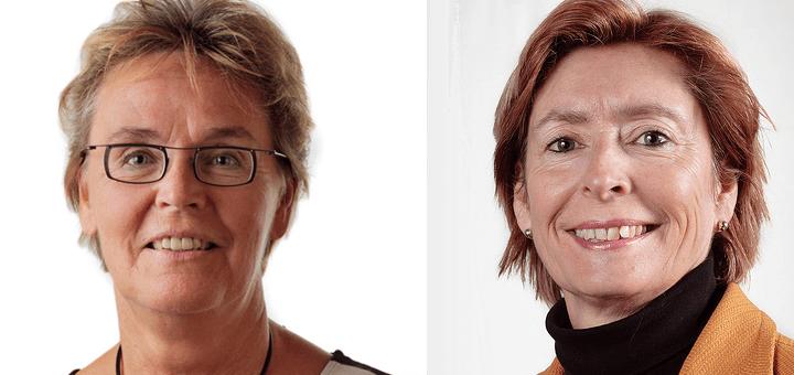Tineke Slagter (SP en Guusje Ter Horst (PvdA)