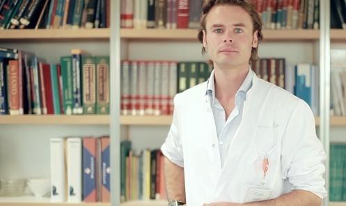 Ernst Jan Bos, arts-onderzoeker VUmc (foto: Flintwave)