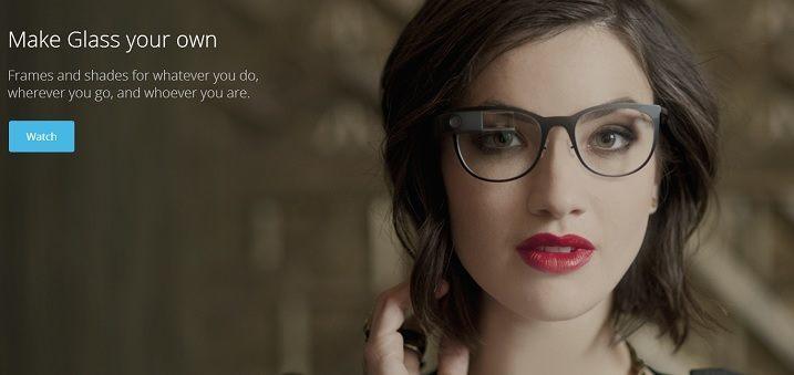 Ook Google neemt het mode-aspect serieus: Glass straks verkrijgbaar met verschillende monturen