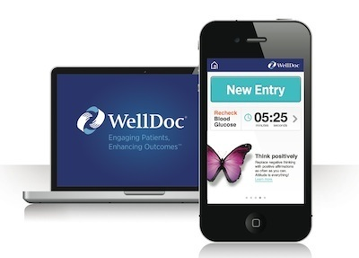 WellDoc BlueStar: diabetes management applicatie