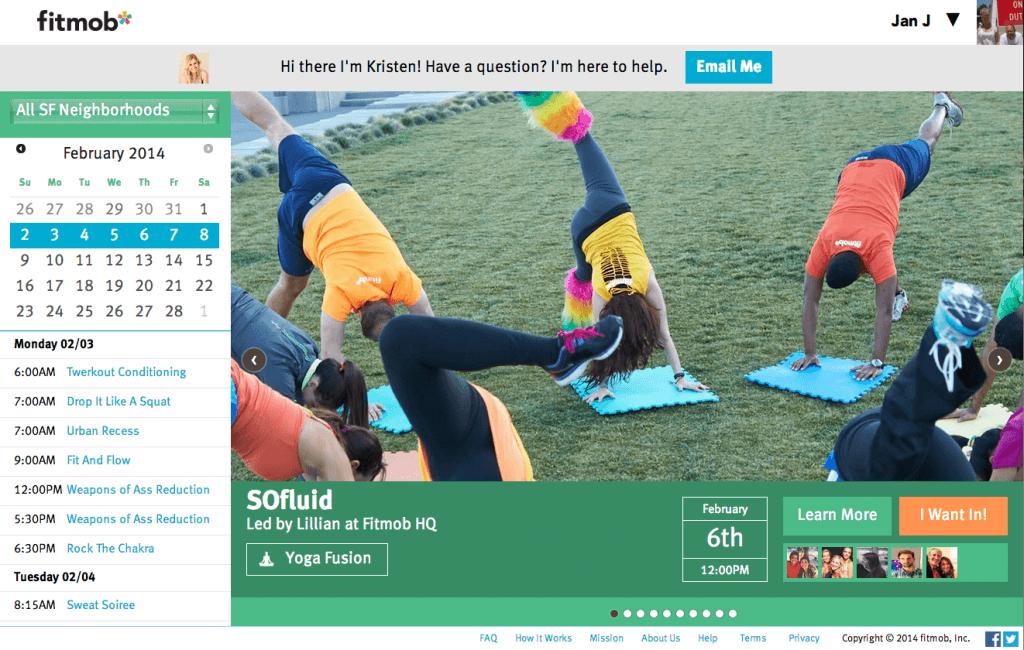 fitmob: de social sportschool
