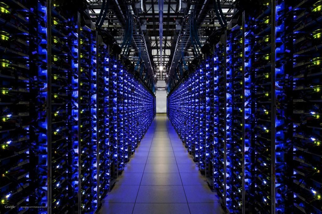 Datacenter van Google (foto: Google)