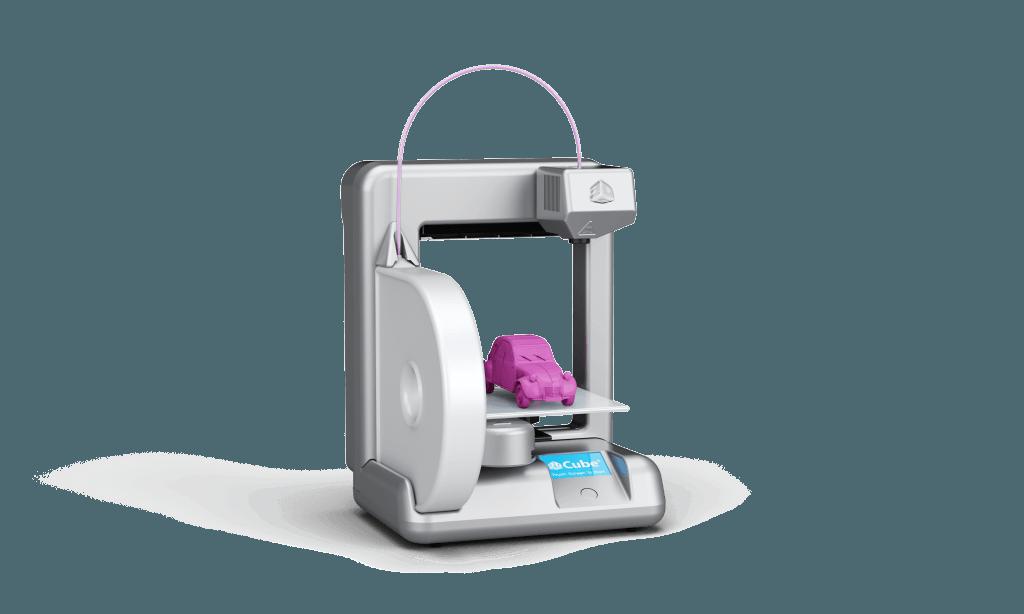 Een consumenten 3D-printer voor thuis (foto: Cube)