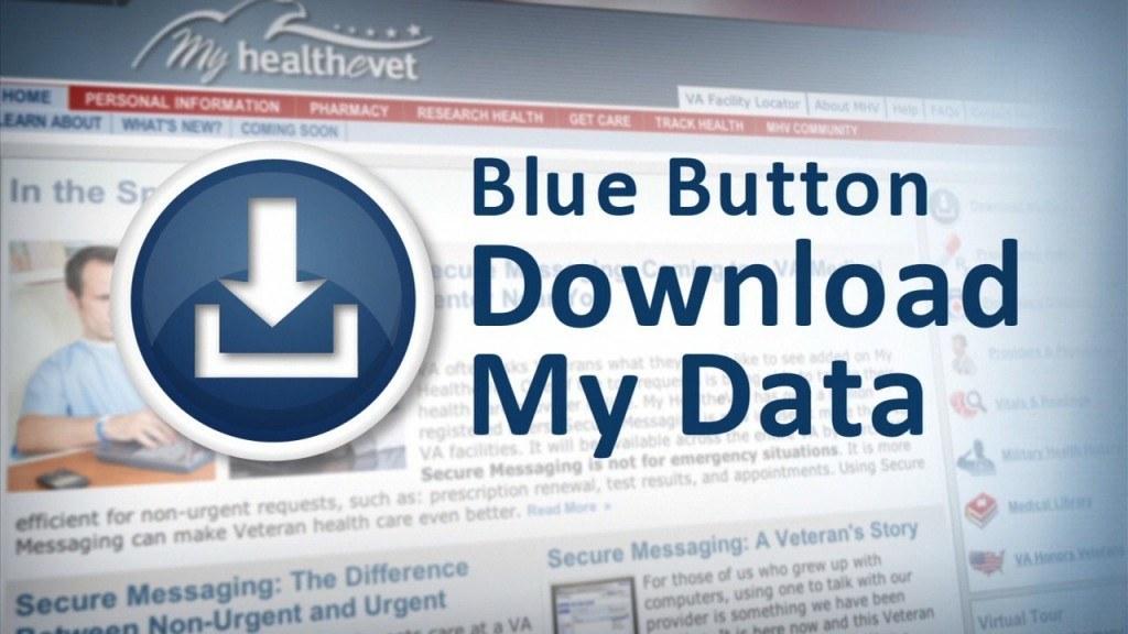 Blue Button: eenvoudig medische data downloaden (foto: whitehouse.gov)