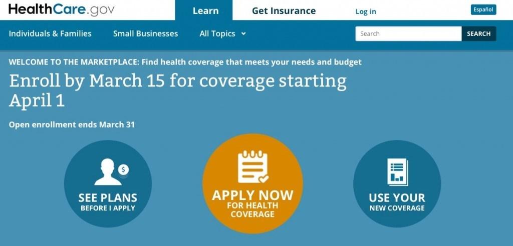 De nationale verzekeringsmarktplaats healthcare.gov wordt een blamage voor de zorghervormingsplannen van Obama