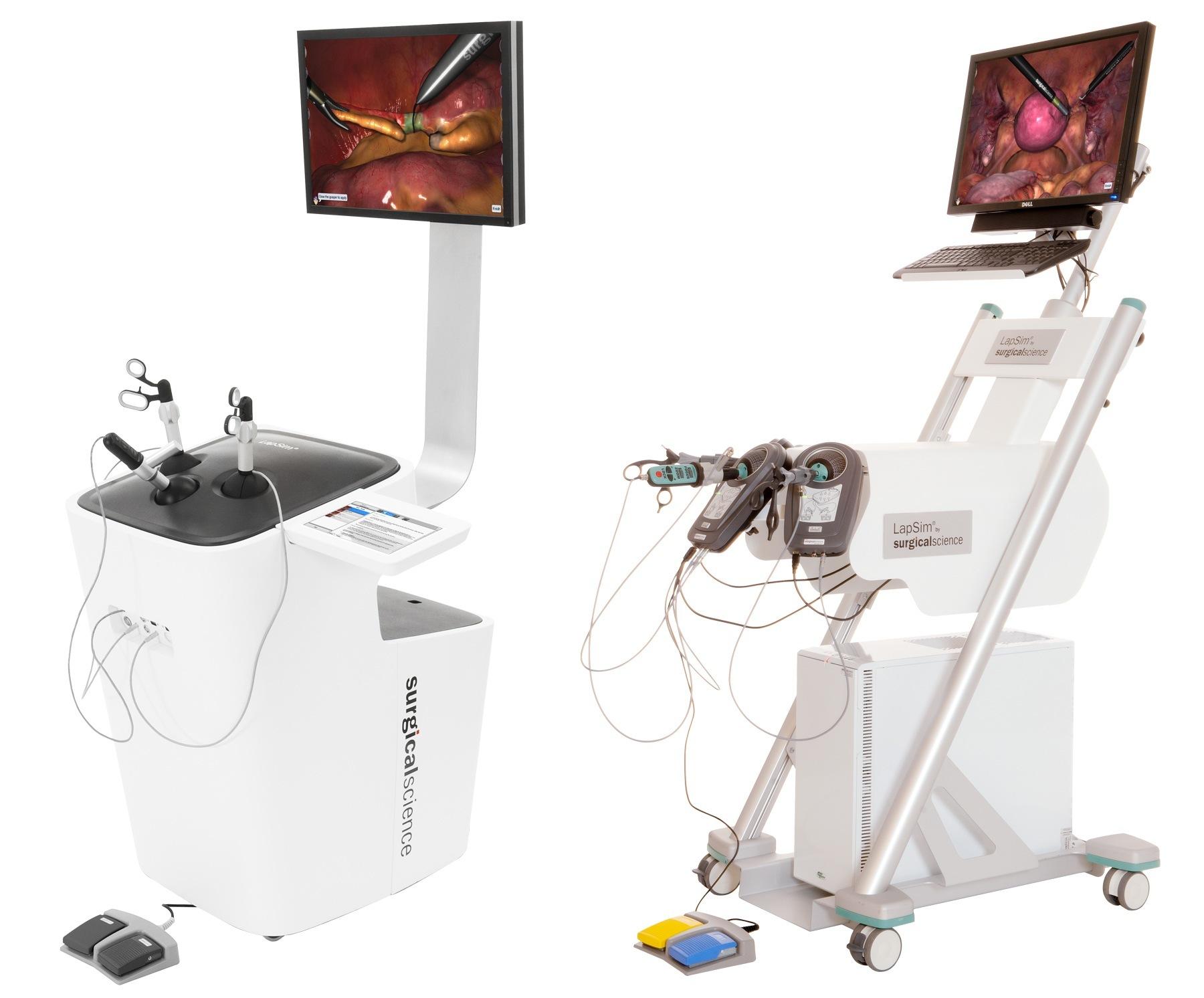 Laproscopie simulator van LapSim
