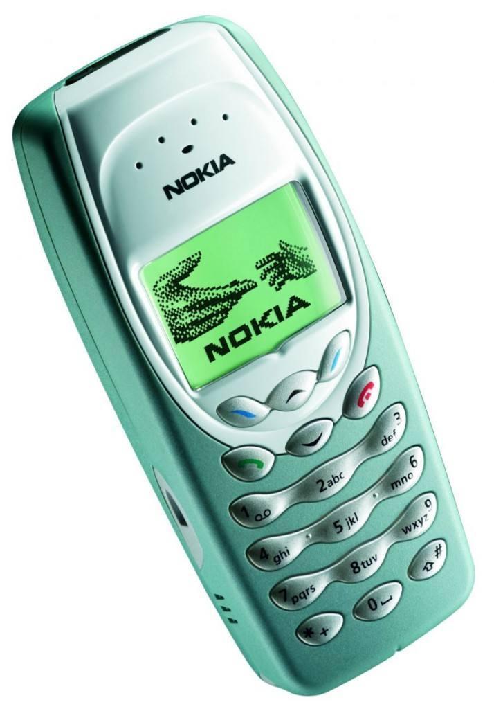 Nokia 3410 uit begin 2000