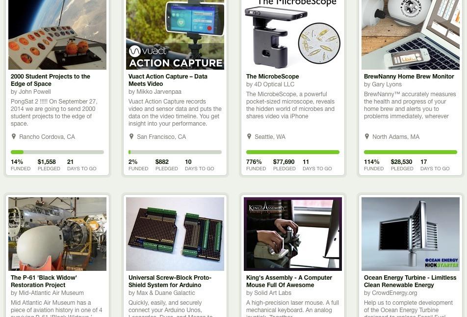 Medische apparatuur of nieuwe mHealth innovaties via Kickstarter.com?
