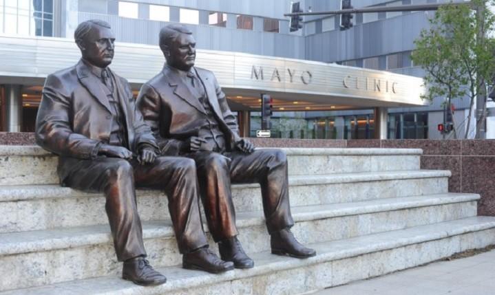 Aandeelhouder van het eerste uur: Mayo Clinic