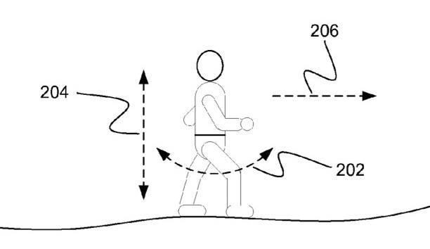 Een tekening bij een patentaanvraag van Apple