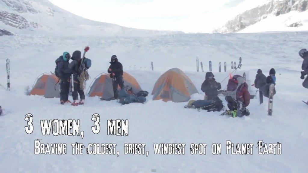 Astroskin Antartica expeditie smartphone beeld via Space.com