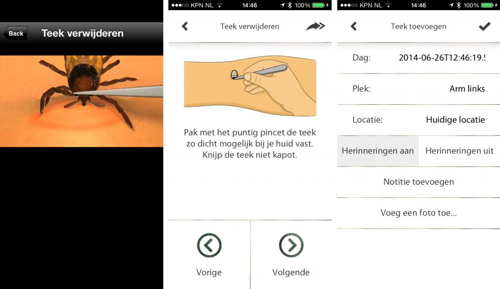 Hoe verwijder je een teek? En melding maken van een beet in de Teek Away app
