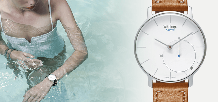 Withings Activité: fitnesstracker als mode-accessoire