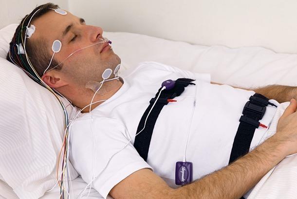 Professionele slaapmeting, foto via http://www.ambu.com/