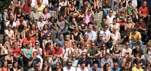 crowd Espen Sundv