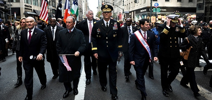 New York Veterans Day Parade Foto: US Army