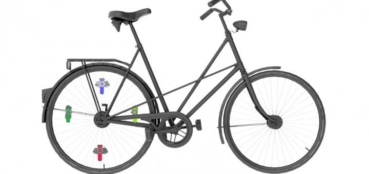 Spokefuge: fietswiel wordt een mini-lab