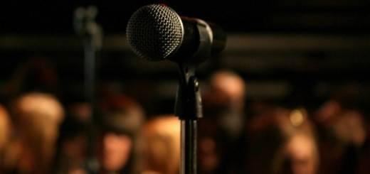 digitaal leiderschap microfoon
