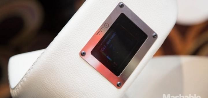 Tao Chair met sensoren (foto: Mashable)