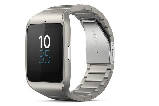 Sony Smartwatch 3 in RVS uitvoering