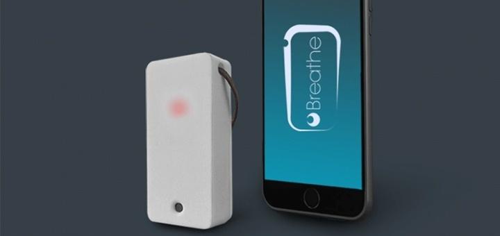 breathe wearable draagbare sensor