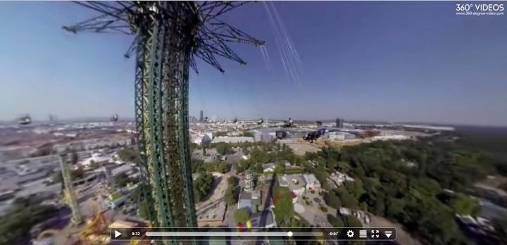 3D video's om de cliënten bloot te stellen aan de stimuli (voorbeeld hoe dit werkt zonder VR headset)