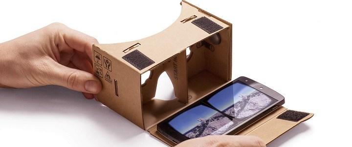 Google Cardboard als alternatief voor de Oculus Rift