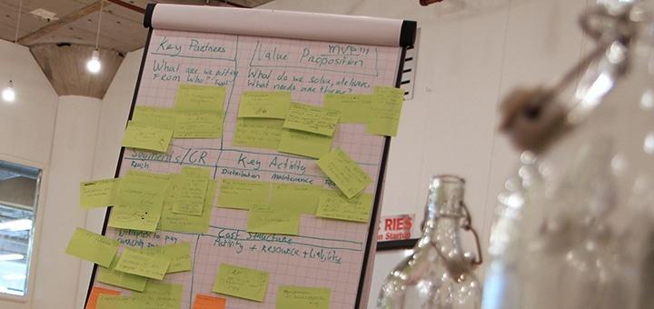 grote plannen voor een klein idee