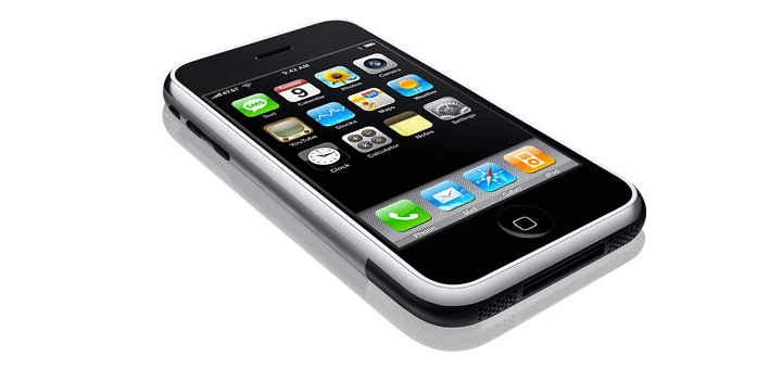 Eerste iPhone nog maar acht jaar geleden