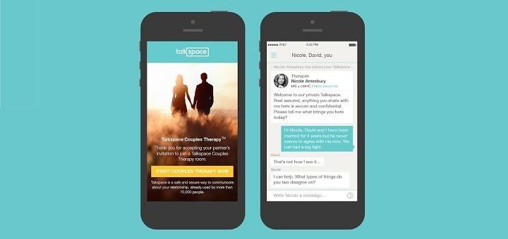 Talkspace: anonieme, betaalbare therapie met professionele therapeuten
