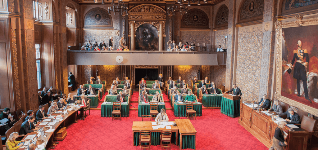 Volgende week stemt de Eerste Kamer