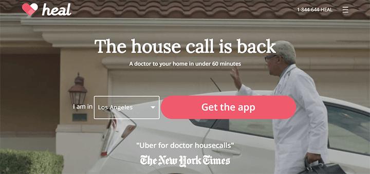 Uber voor thuisbezoek van dokters: veel aanbieders inmiddels