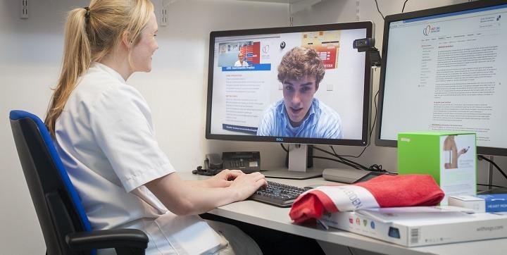 Digitale polikliniek bij het HartLong Centrum
