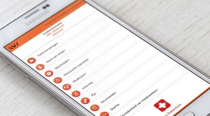 In Nederland hebben we het Kwaliteitsvenster van de Nederlandse Vereniging van Ziekenhuizen