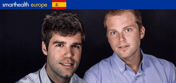 Pablo Pantaleoni (r) en Jacob Suñol, oprichters van MedTep