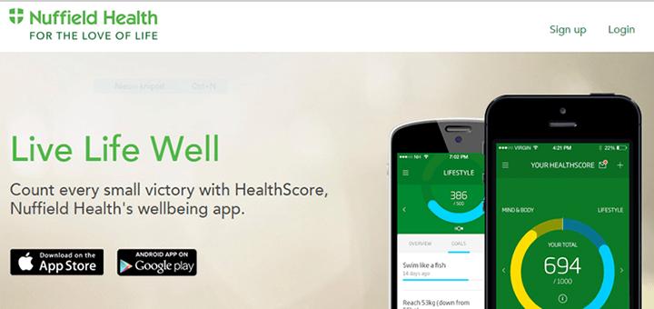 Nuffield Health: referentieklanten belangrijk
