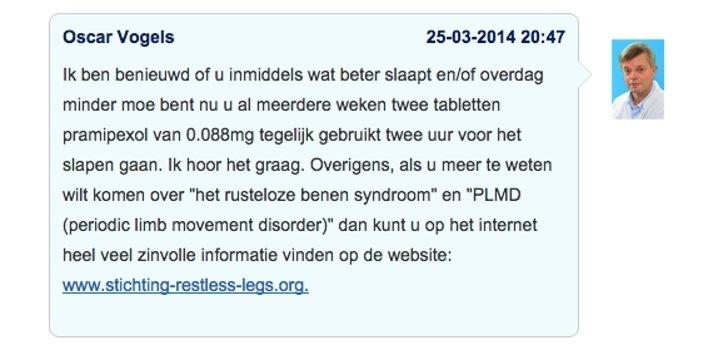 Doktr.nl voorbeeld bespreking