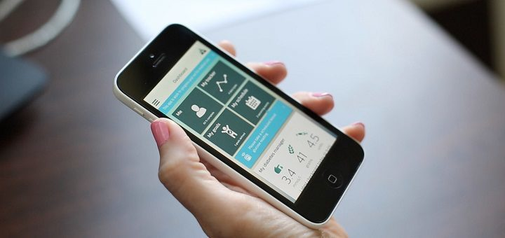 Philips diabetes self-care app with integrated virtual community