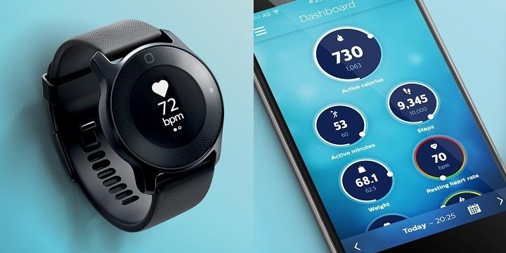 Philips lanceert eigen smartwatch