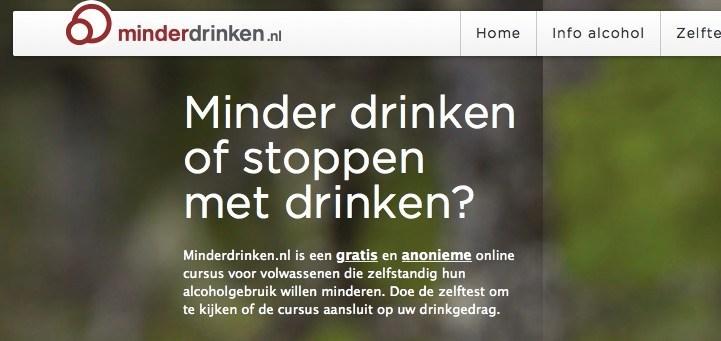 Minder Drinken e-mental Health