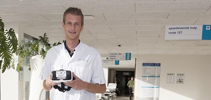 Stefan van Rooijen, arts-onderzoeker op de afdeling chirurgie in Máxima Medisch Centrum