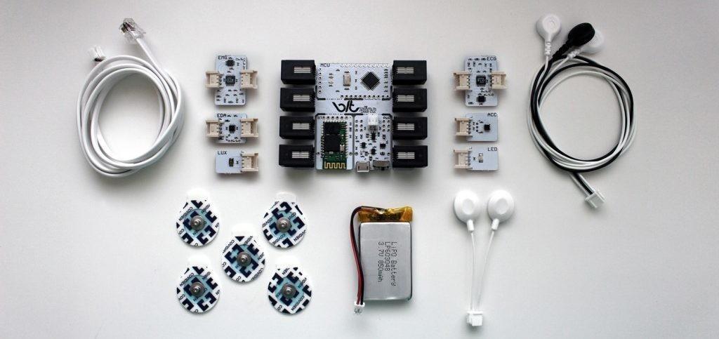 Een prototyping kit voor wearables die Maastricht Instruments heeft ontwikkeld