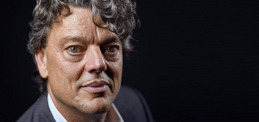 Leonard Witkamp, bijzonder hoogleraar Telemedicine aan de Faculteit der Geneeskunde van de Universiteit van Amsterdam (foto: Marcel Bakker)