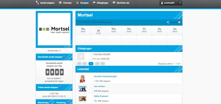 Een eenvoudige online omgeving met deelcompetities