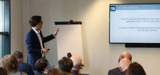 Jorne Grolleman onderzocht inzet van e-mental health bij 22 GGZ-instellingen
